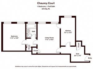 Chauncy Court (CC1I)