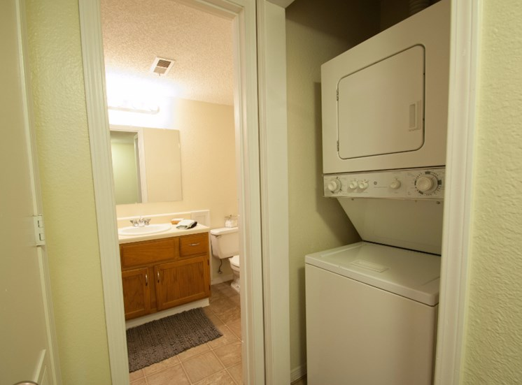 Bathroom and Washer and Dryer Picture