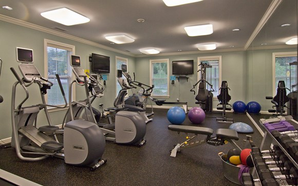 Fitness Machines At Timberwood Commons Apartments In Lebanon Nh