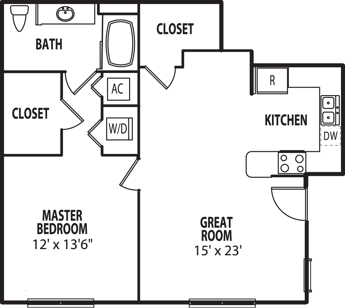AUGUSTA Upgrade Floor Plan 1