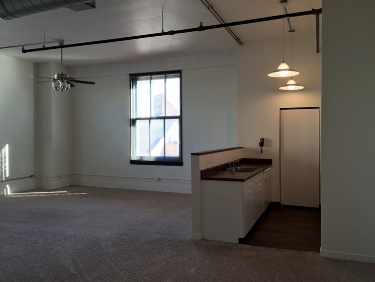Unique Layouts at The Historic LaSalle Apartments in Downtown Toledo, OH