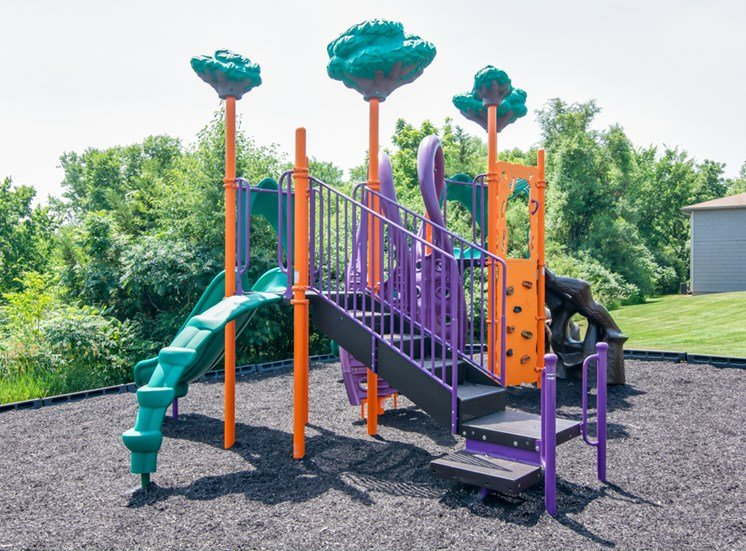 New playground at Prairie Walk Apartments in Kansas City, MO and in South Kansas City, MO