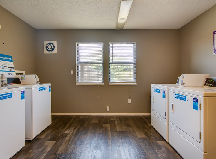 Laundry at Prairie Walk Apartments in Kansas City, MO and in South Kansas City, MO