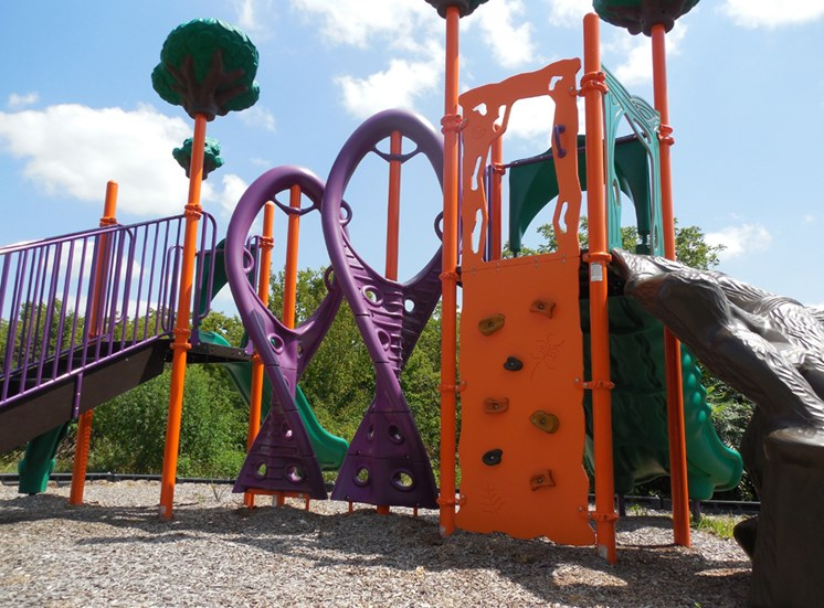 Playground at Prairie Walk Apartments in KC, MO