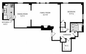 One Bedroom Cormere