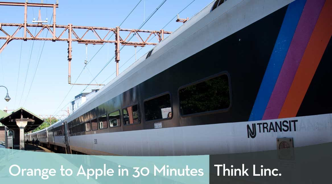 NJ Transit Train Station - Orange to Apple in 30 Minutes