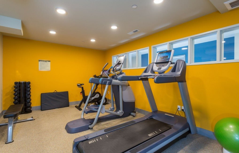 Fitness Center at Canvas Apartments, Seattle, WA,98119