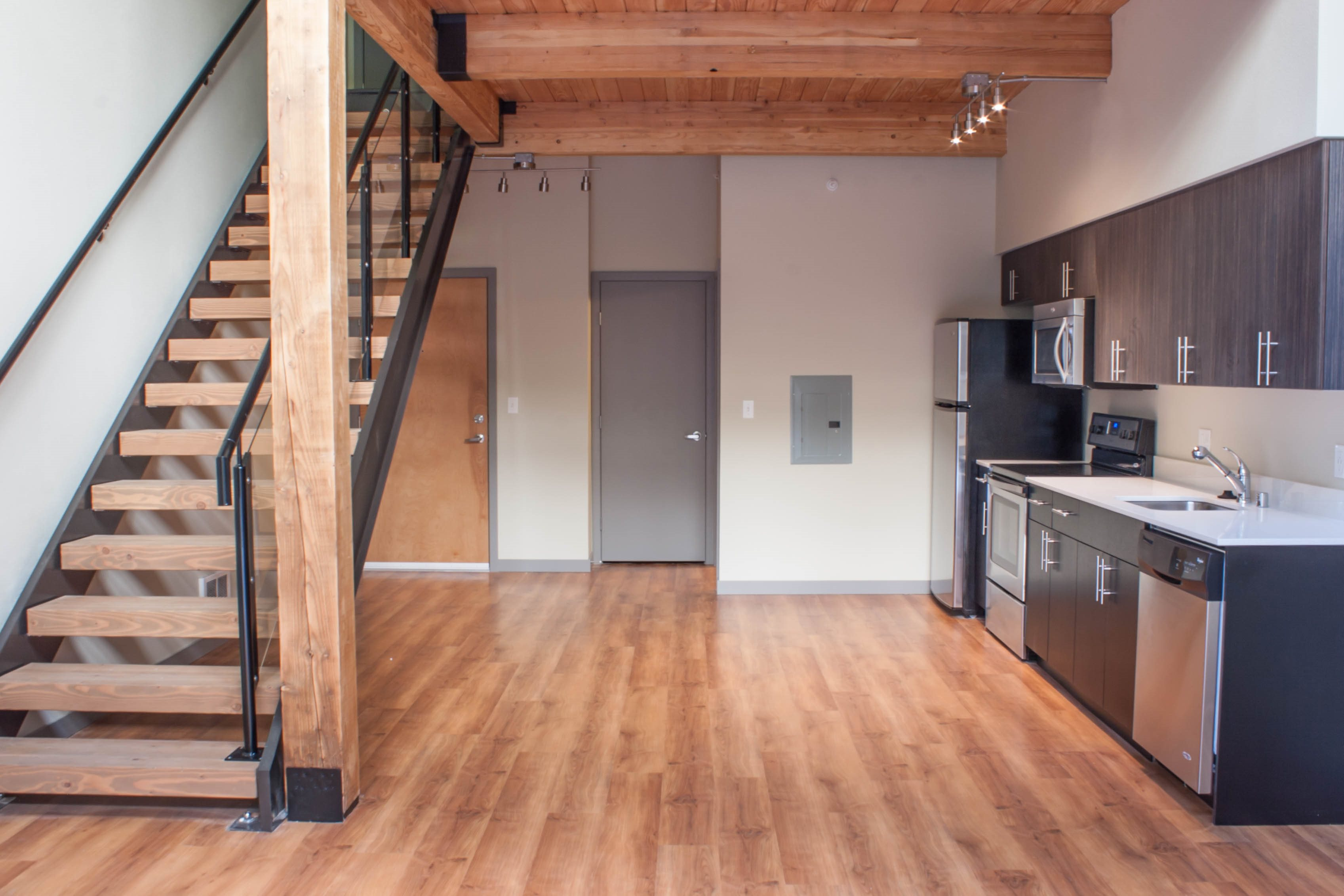 Beautiful Interiors at Canvas Apartments, Seattle, WA,98119