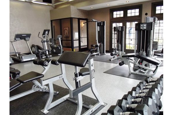 Asherton fitness center gym