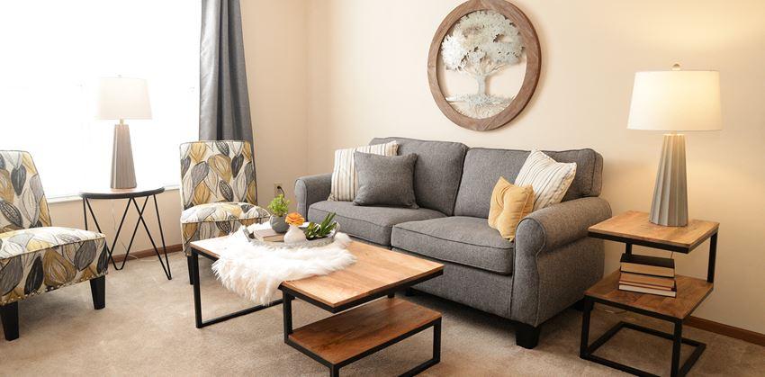 in-unit living room