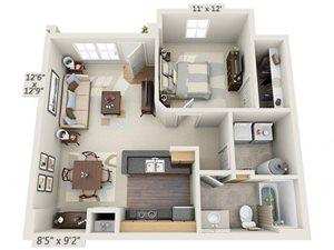 Floor Plan Polaris Place Apartments