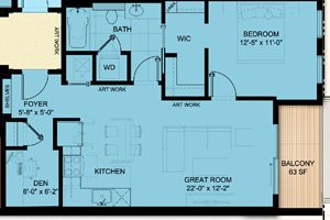 One Bedroom 782
