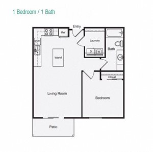 1 Bedroom Apartment Home