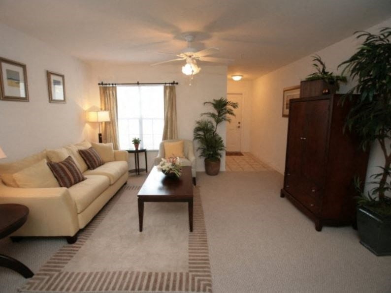 Enterprise Cove Condos for rent in Orange City, FL. Make this community your new home or visit other Concord Rents communities at ConcordRents.com. Living room