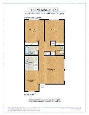 McKinley Floorplan Image