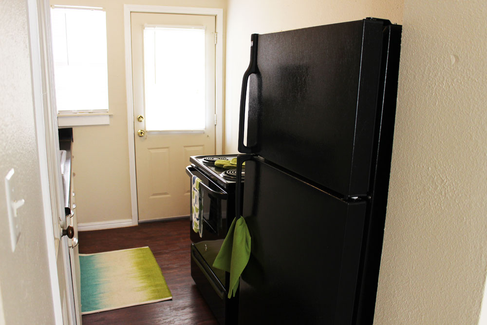 appliances at Palo Duro Place in Amarillo TX