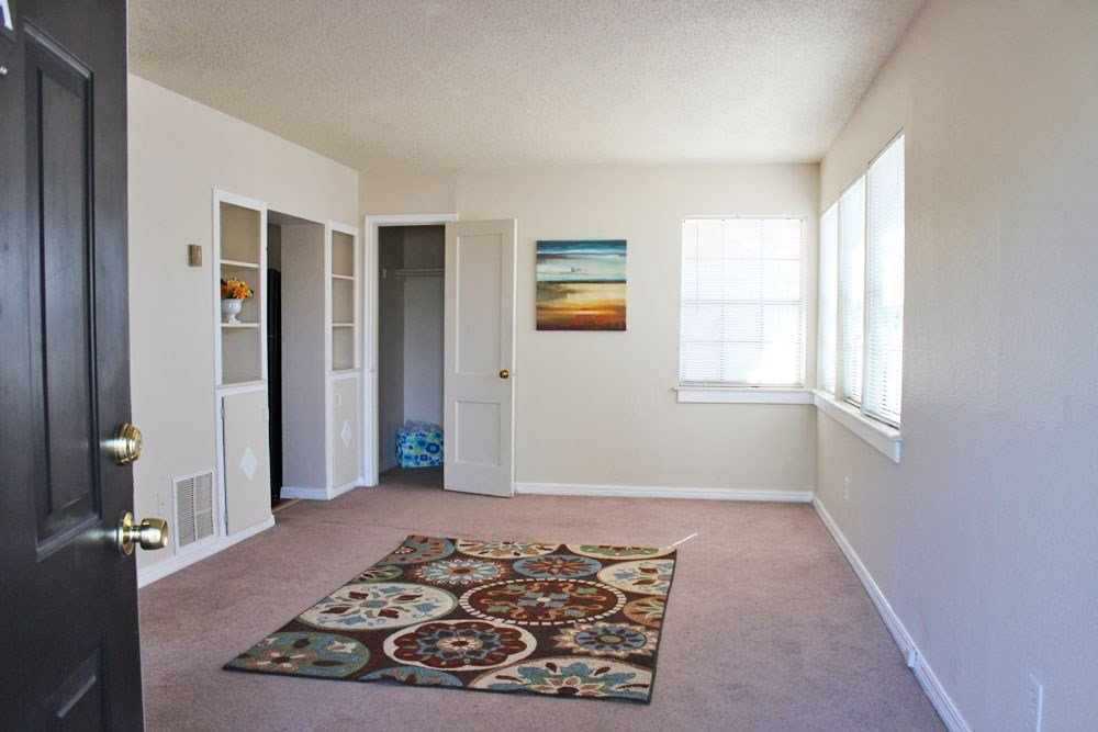 Front door apartment entry at Palo Duro Place in Amarillo TX