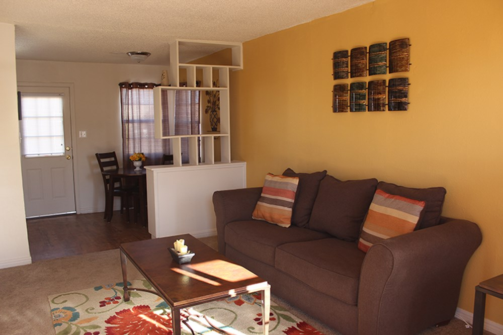 Living Room Area at Palo Duro Place in Amarillo TX