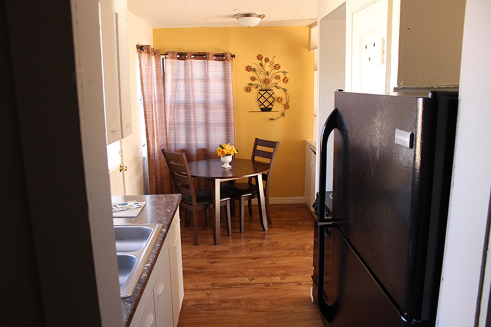 Beautiful kitchen and dinning area t Palo Duro Place in Amarillo TX