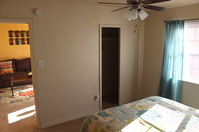 Bed room view at Palo Duro Place in Amarillo TX
