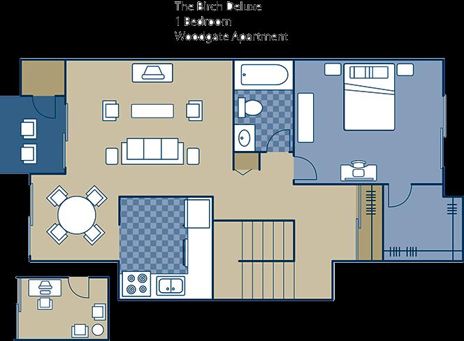 The Birch Deluxe Floor Plan 5
