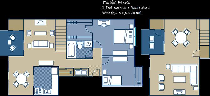 The Elm Deluxe Floor Plan 7