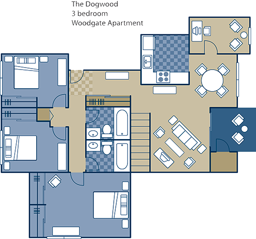The Hickory Floor Plan 13