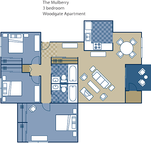 The Mulberry Floor Plan 11