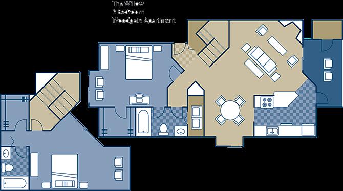 The Willow Floor Plan 17