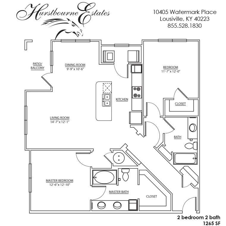 2I - 2K Floor Plan 12