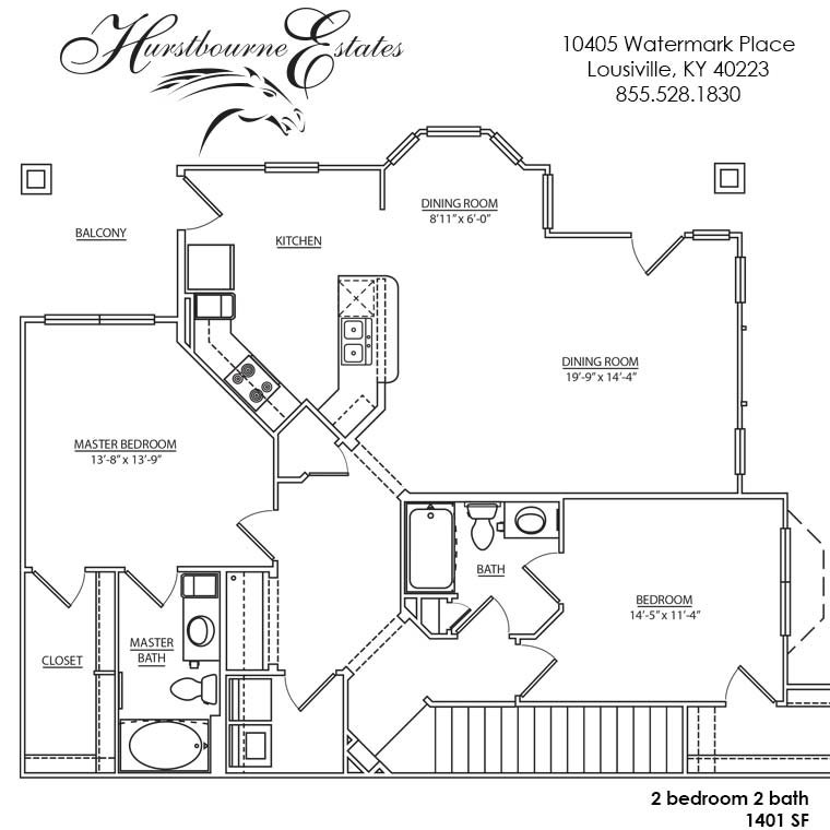 2N - 2O Floor Plan 14