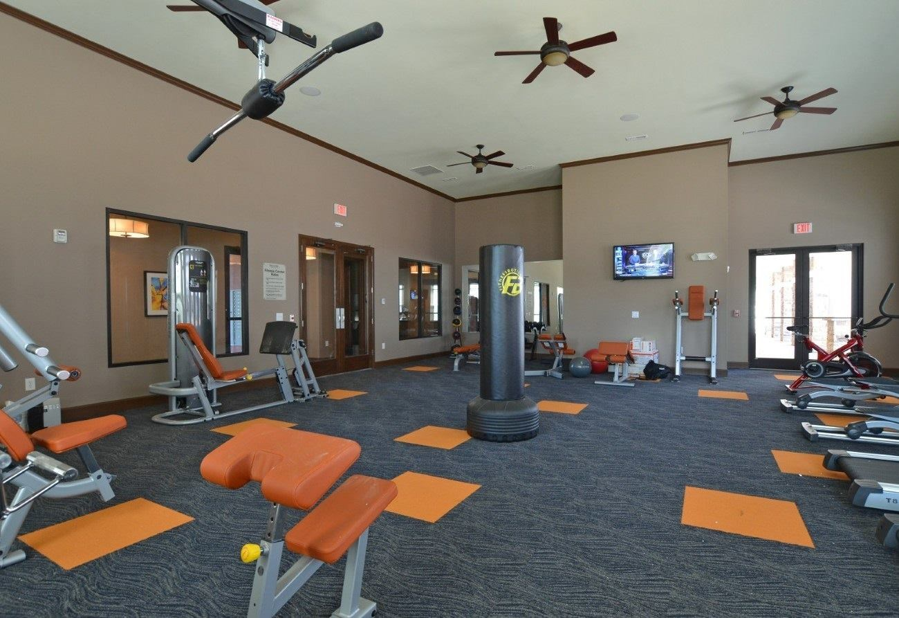 Fitness Center at Hurstbourne Estates Apartments in louisville, KY