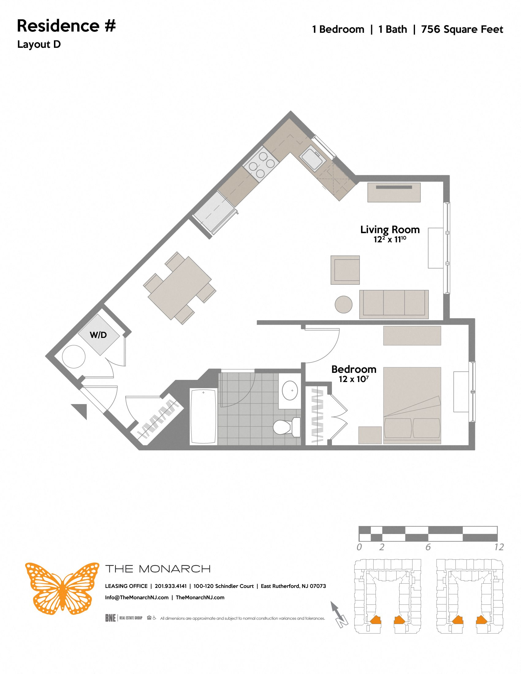 Layout D Floor Plan 1