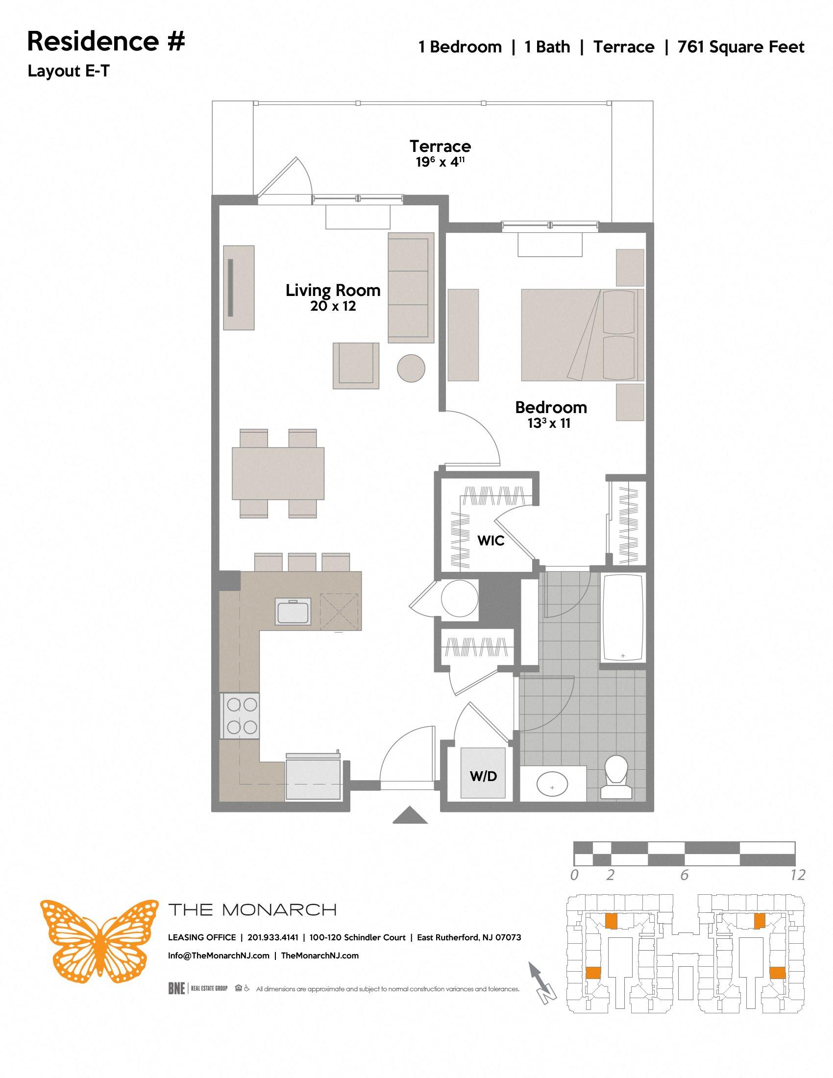 Layout E-T Floor Plan 2