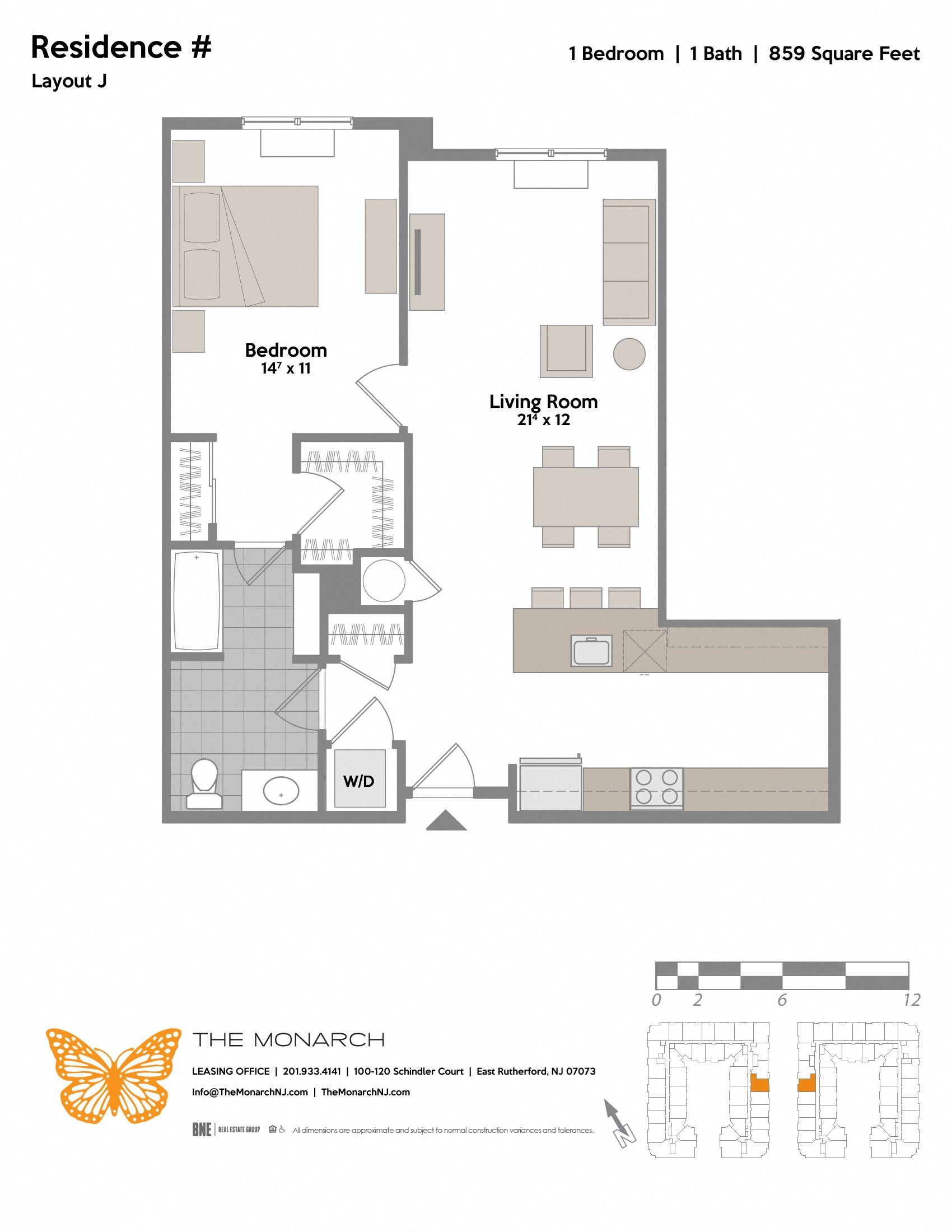 Layout J Floor Plan 6
