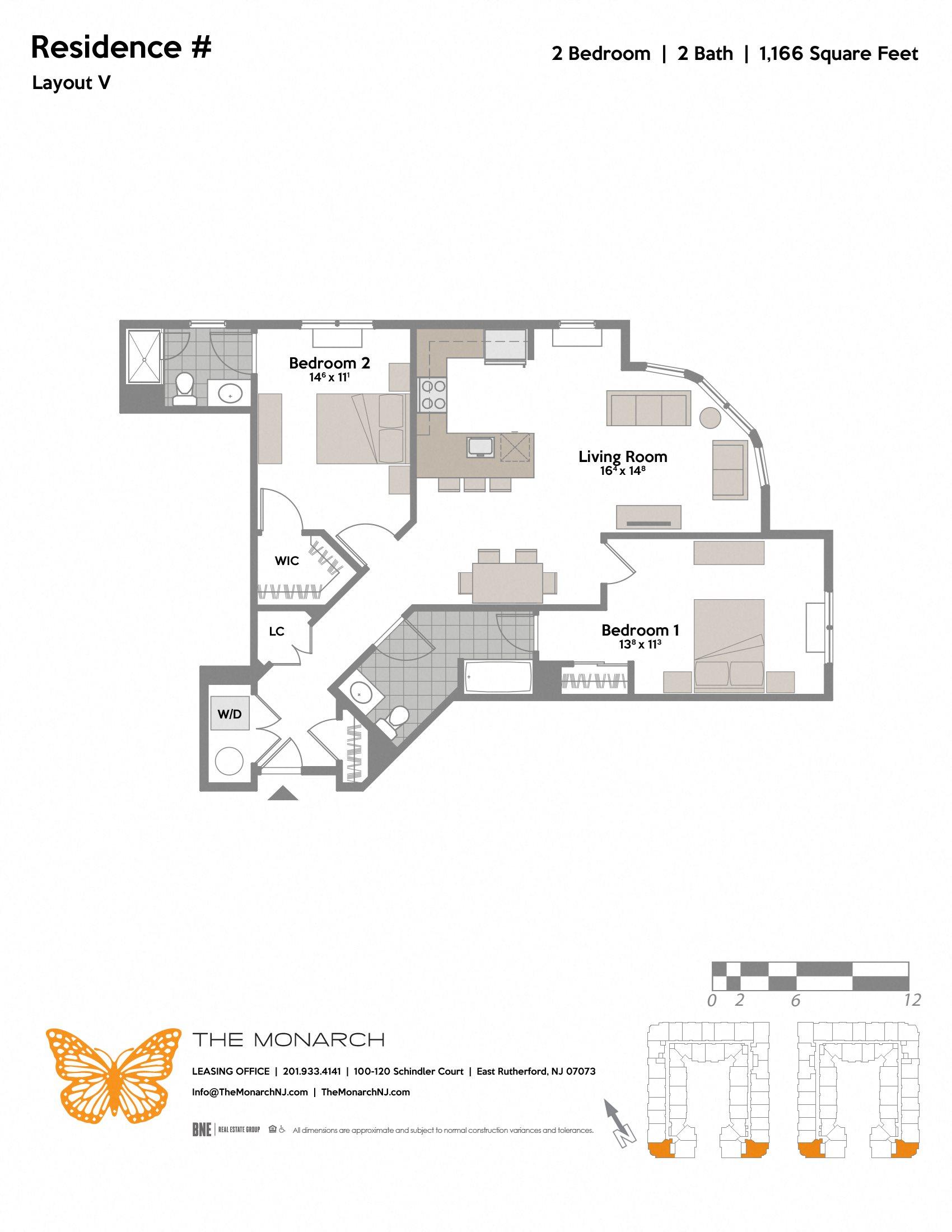 Layout V Floor Plan 6