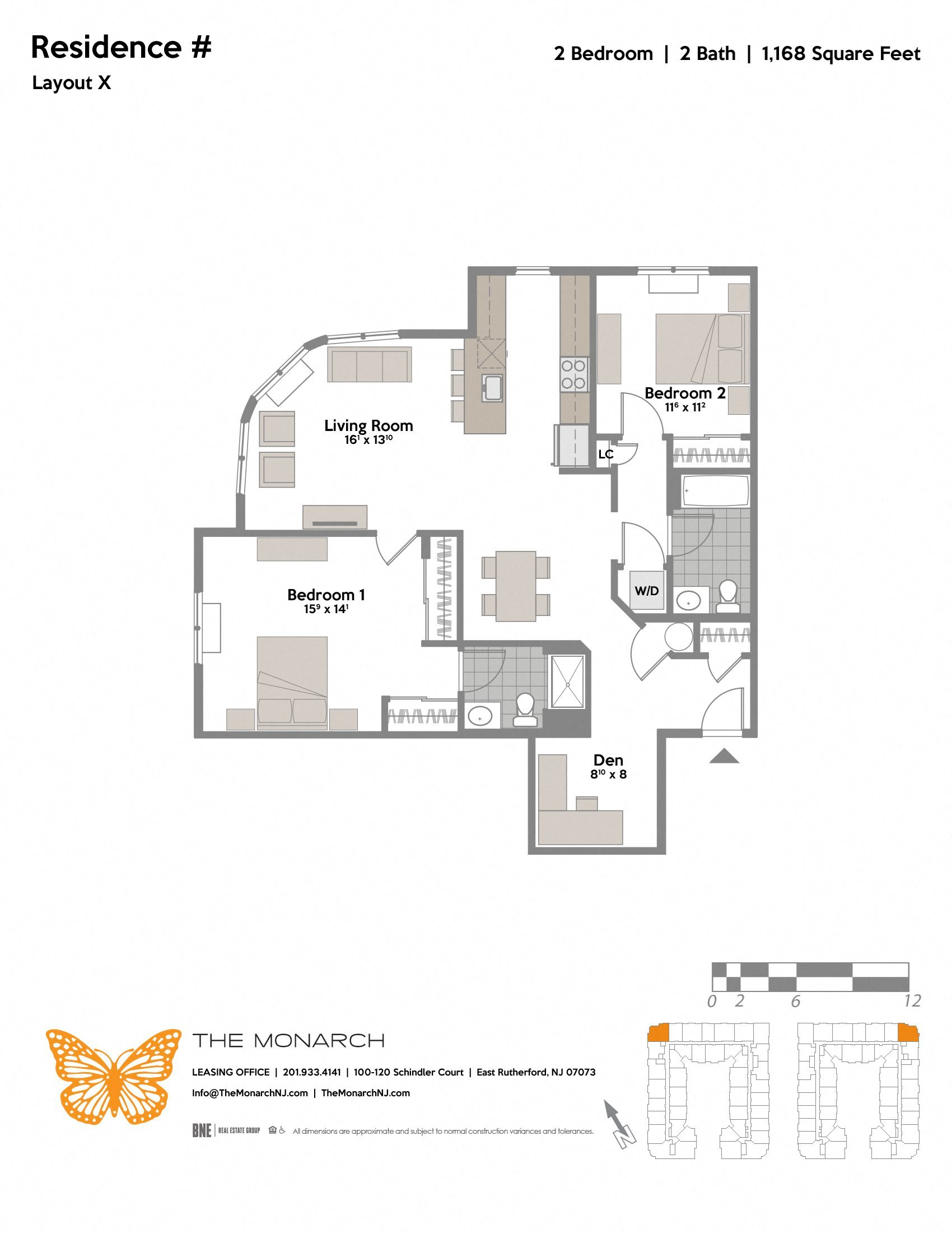 Layout X Floor Plan 7
