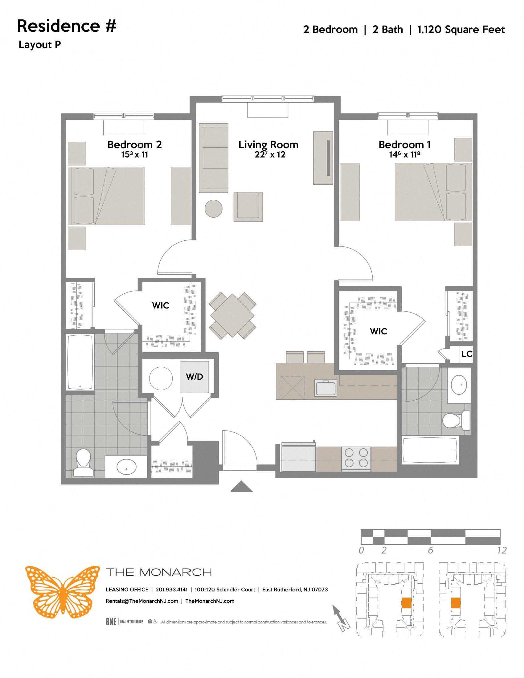 Layout P Floor Plan 3