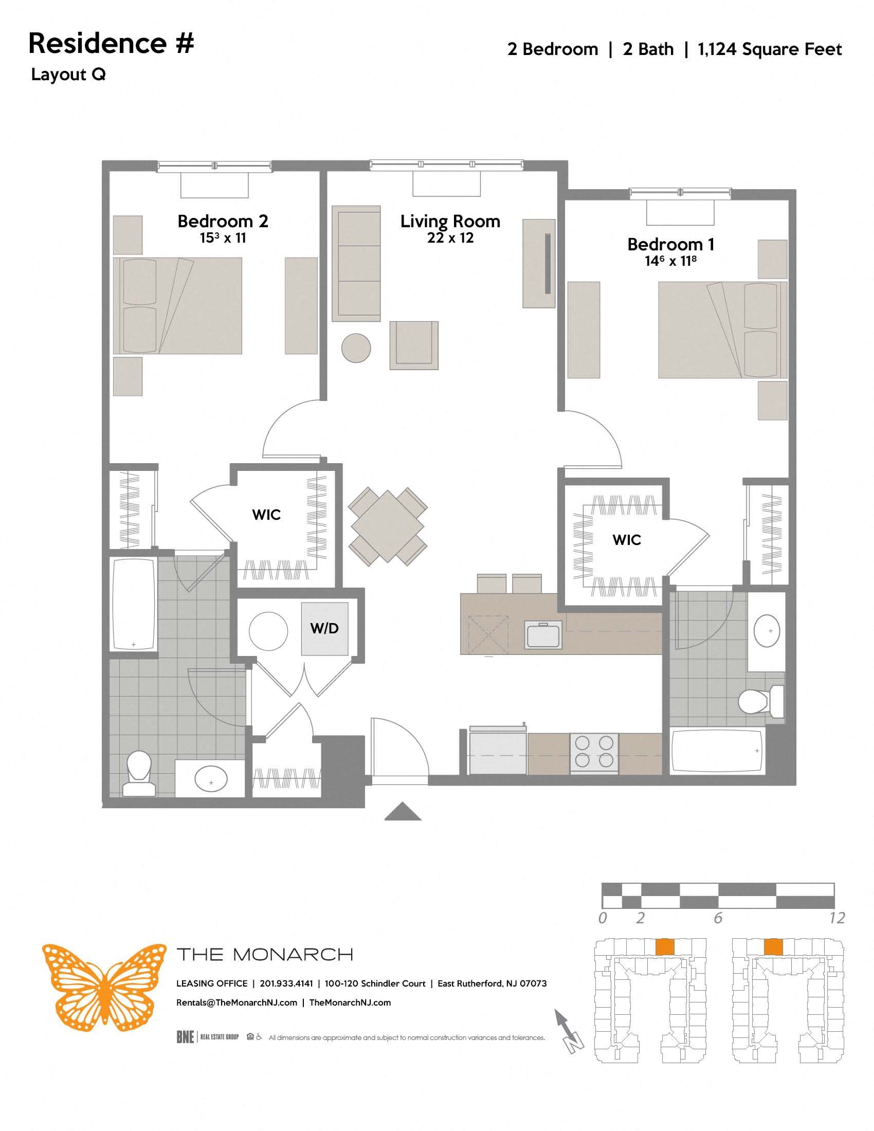 Layout Q Floor Plan 7