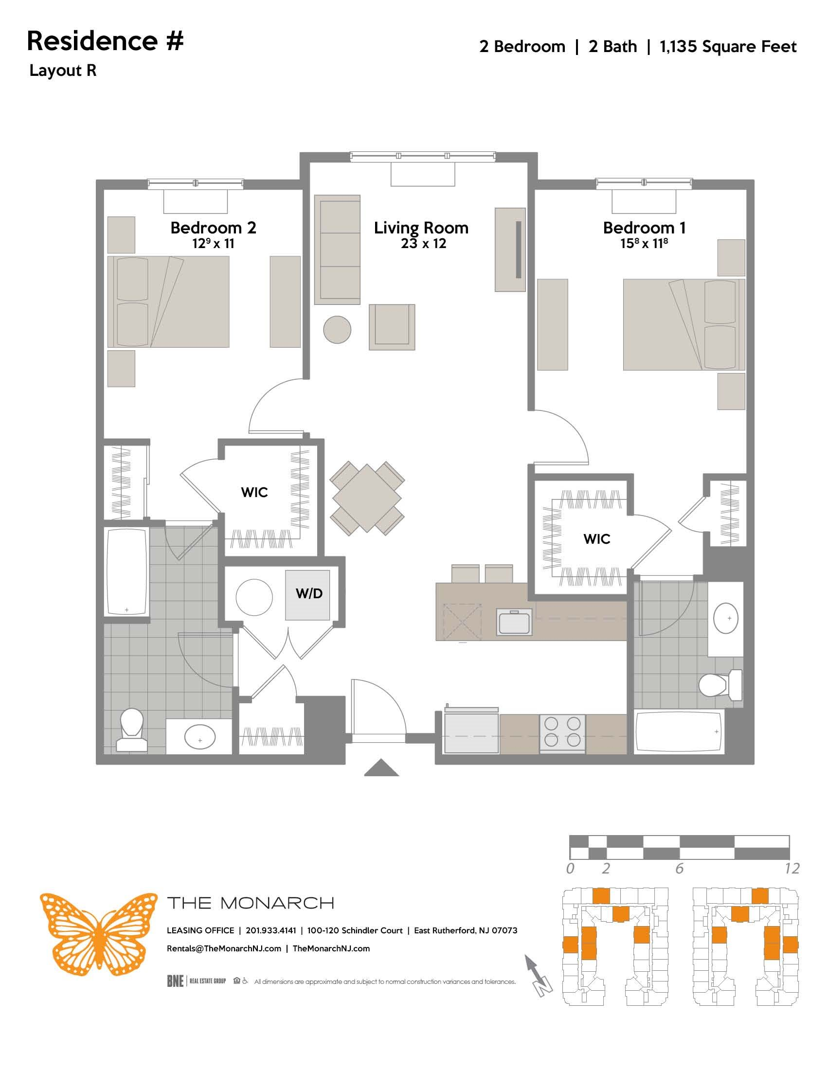 Layout R Floor Plan 8