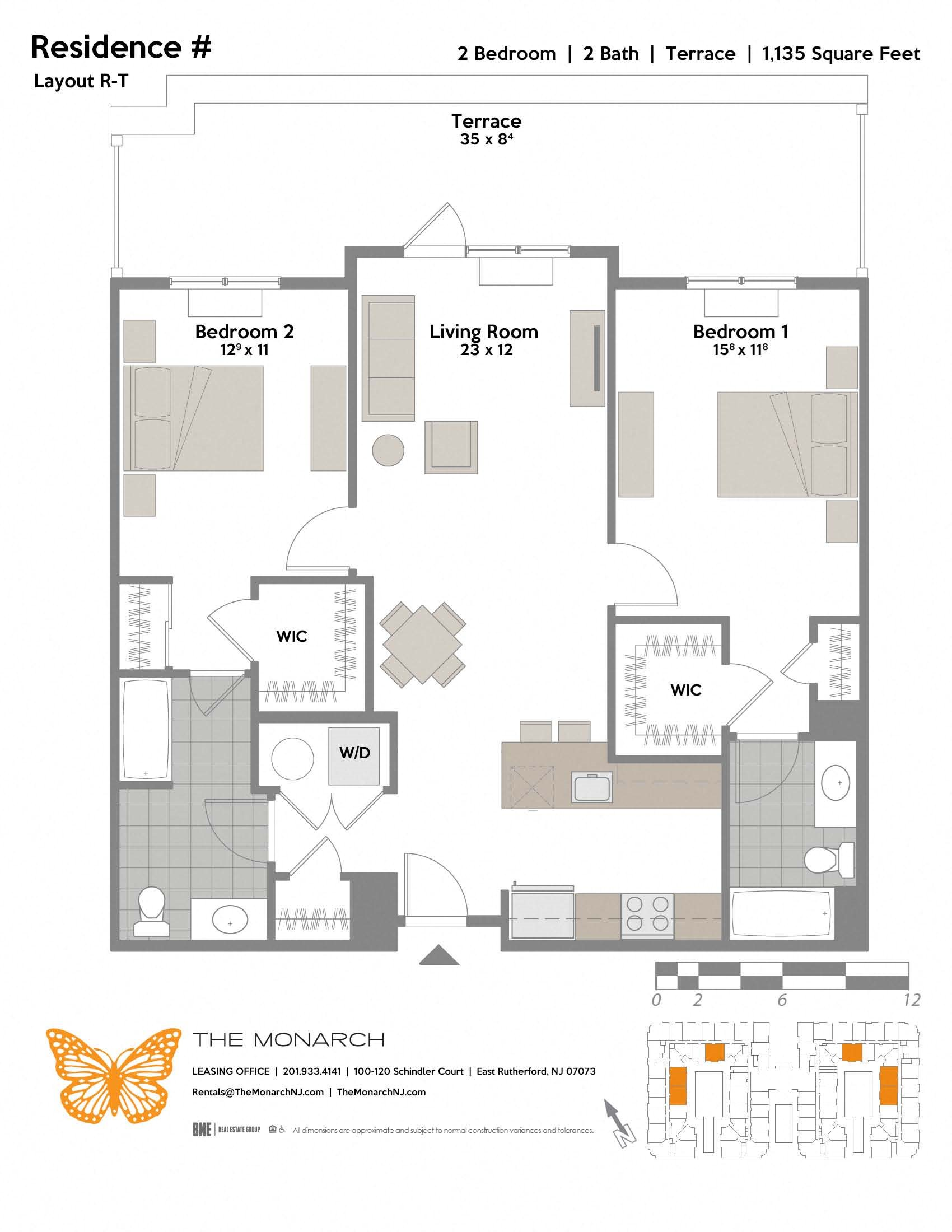 Layout R-T Floor Plan 9