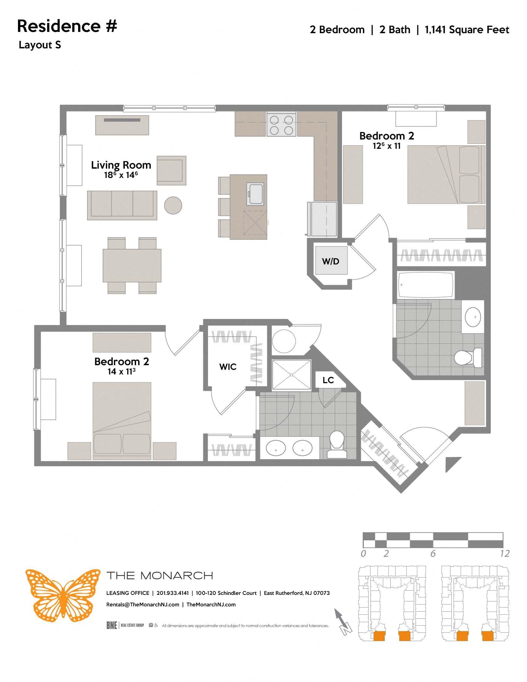 Layout S Floor Plan 8