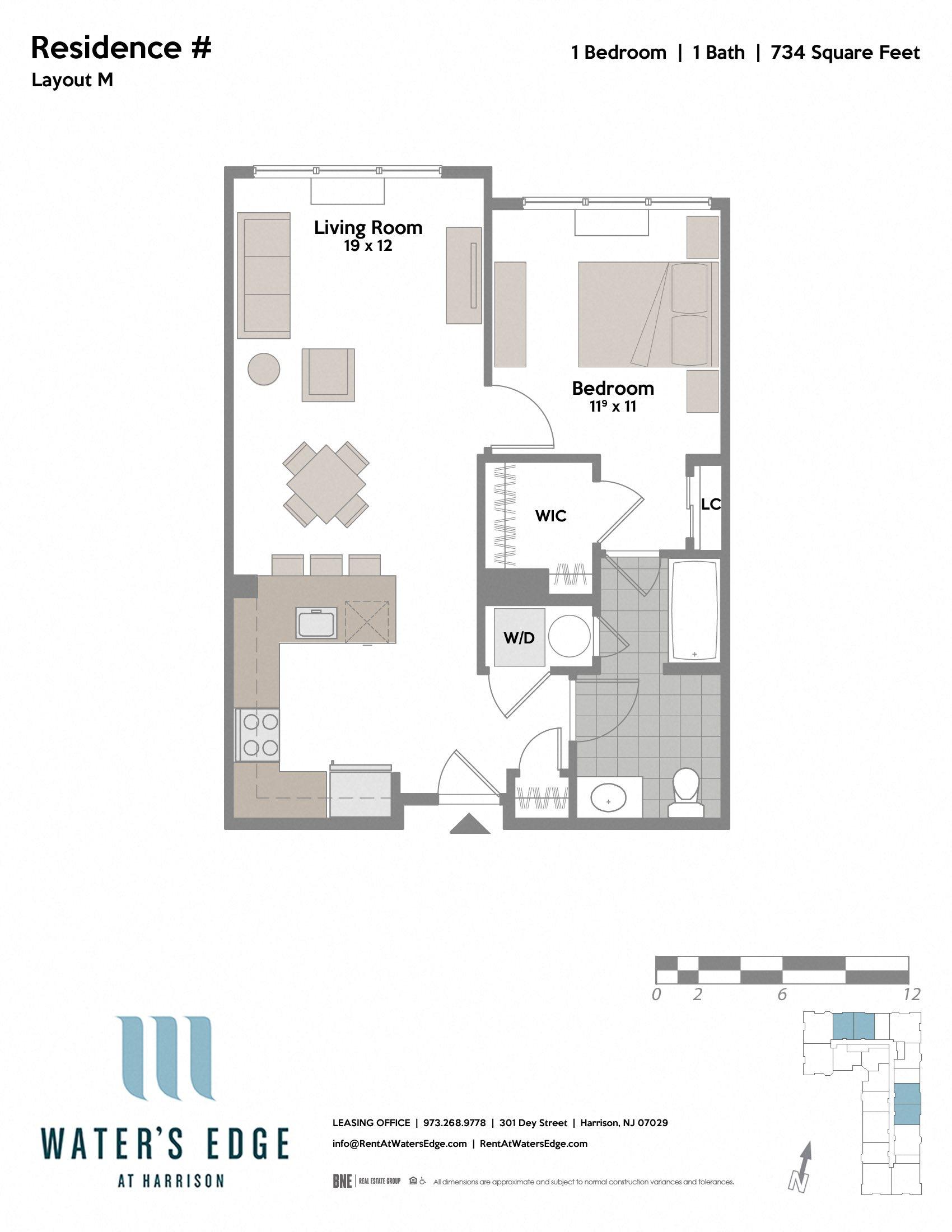 Layout M Floor Plan 2