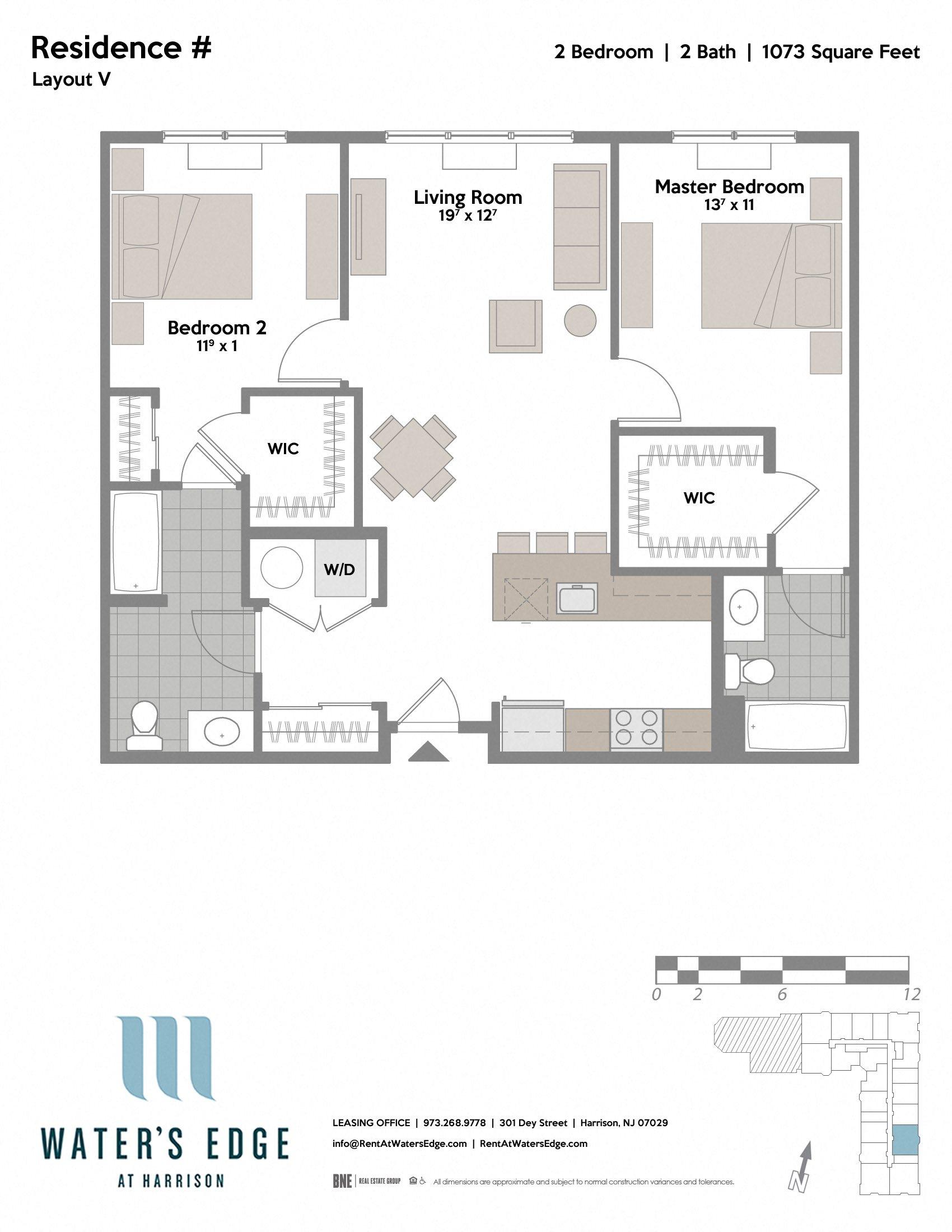 Layout V Floor Plan 3