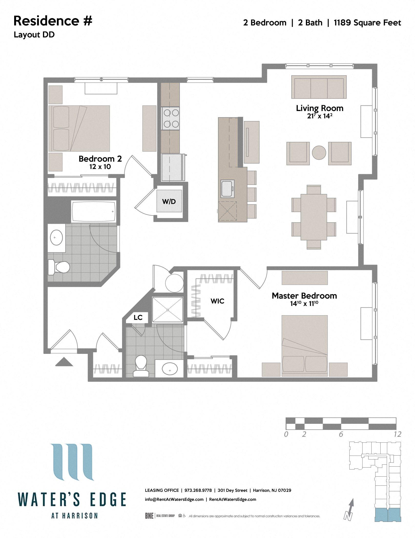 Layout DD Floor Plan 6