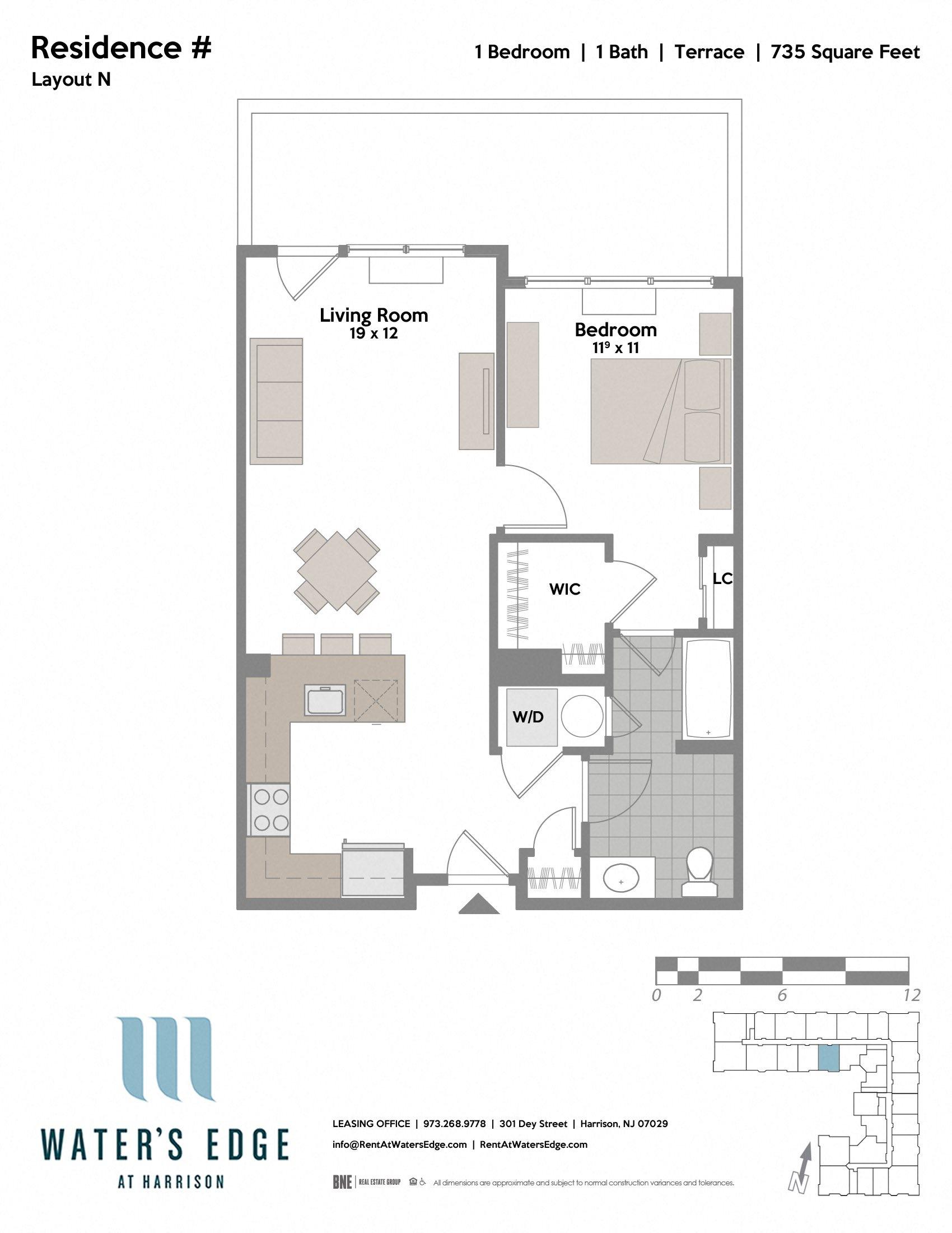 Layout N-T Floor Plan 3