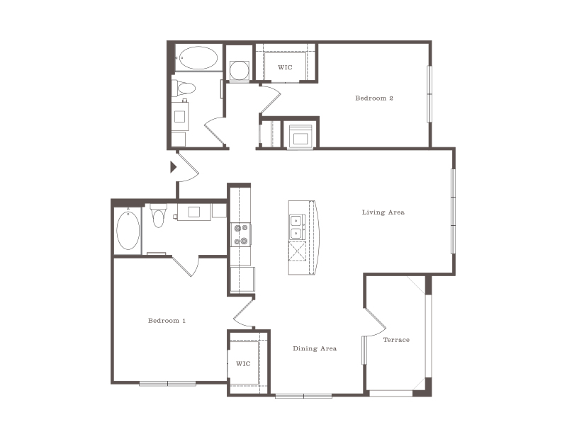 2 Bedroom Apartments In Baton Rouge Our Standard 2 Bedroom