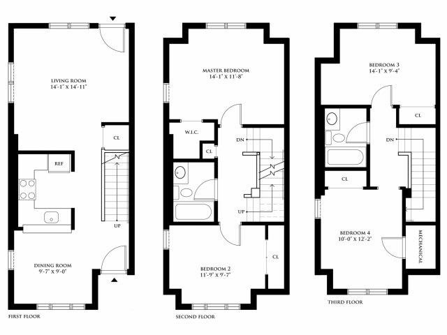Floor Plans Of Markham Gardens In Staten Island Ny