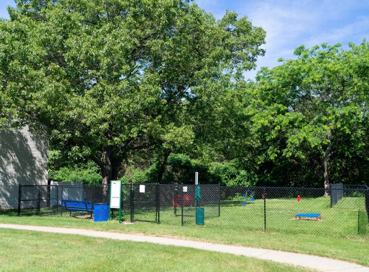 Dog Park at Rolling Pines Apartments in Grand Rapids, MI