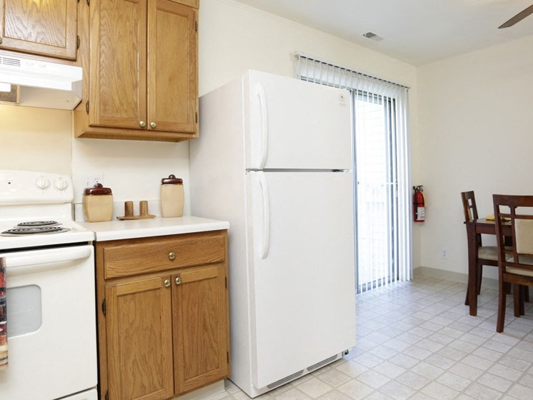 Large Kitchen Space Rolling Pines Apartments in Grand Rapids, MI